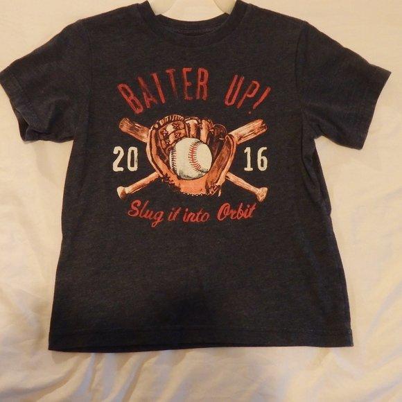 The Children's Place Baseball Themed T-shirt